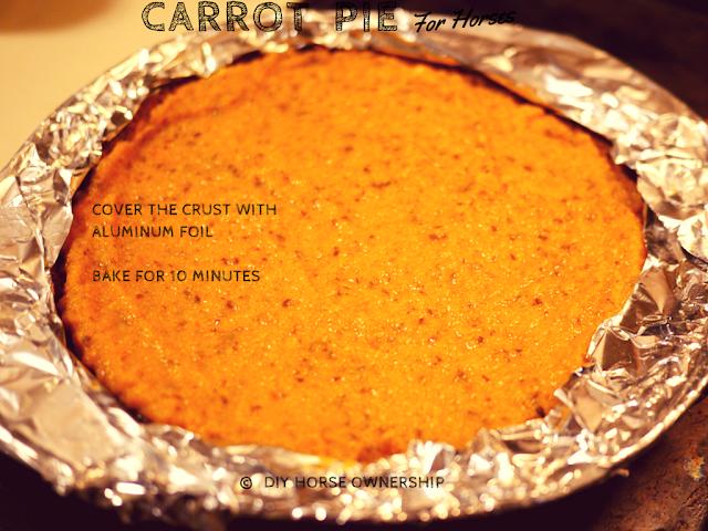 DIY Carrot Pie for Horses Recipe