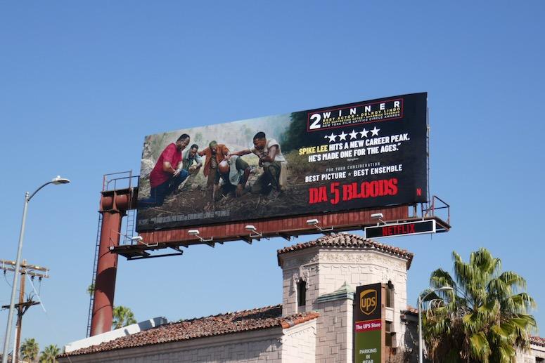 Da 5 Bloods film FYC billboard