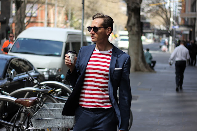 STRIPES IN MENSWEAR