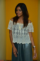 Eesha in a cute deep neck top and Skirt at at Big FM 121.JPG