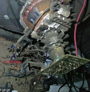 mengatasi tv lg 21fl1rg rusak mati protek
