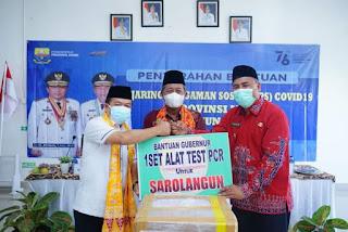 Gubernur dan Wakil Kunker Ke Sarolangun Di Dampingi Wakil Bupati Sarolangun