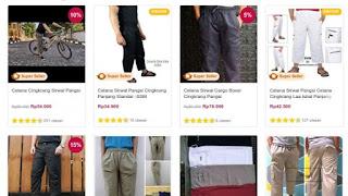 Nyari Celana Cingkrang? di E-Commerce Banyak Modelnya Lho