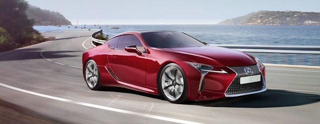 Spesifikasi Lexus LC 500