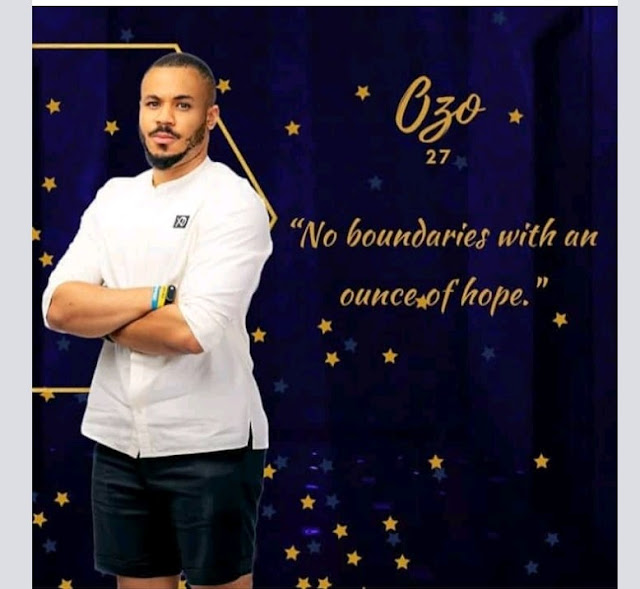 BBNaija 2020: Ozo; Biography, Age, State of Origin, Education and Career, Relationship