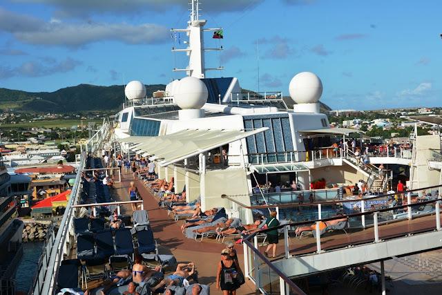 Celebrity Eclipse deck