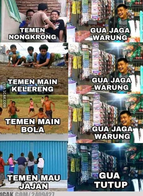 10 Meme 'Perbedaan Kegiatan Lo dan Gue' Ini Kocaknya Nendang Abis