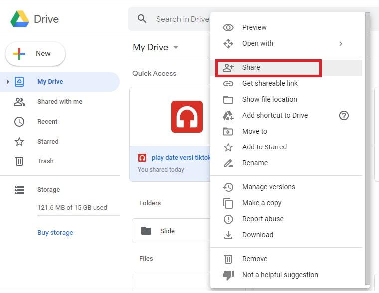 Cara Mengatur Izin Hak Akses File Google Drive Secara Publik Review Teknologi Sekarang