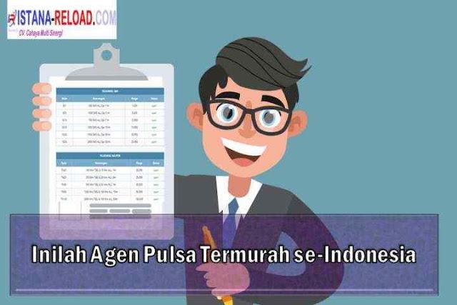 Inilah Agen Pulsa Termurah se-Indonesia, istana reload pulsa