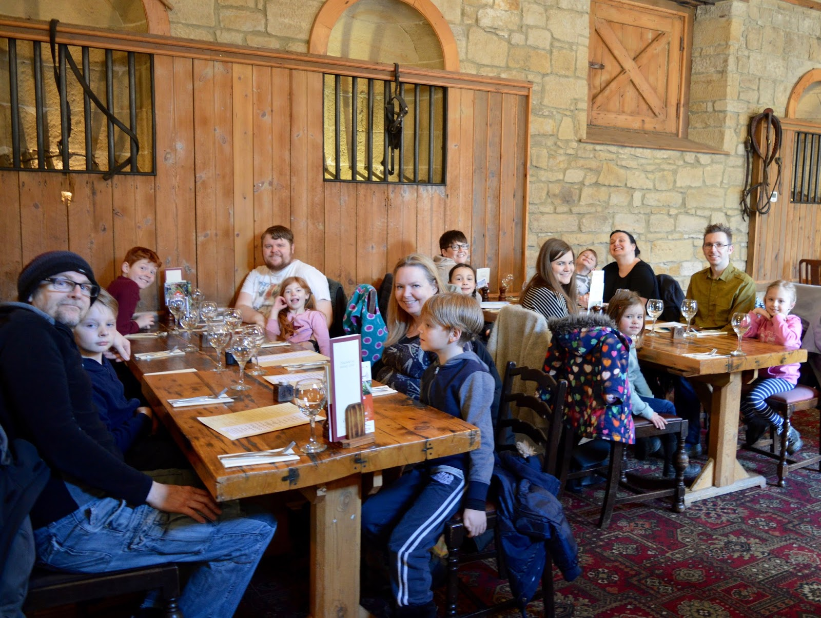 The Stables Beamish Hall | Sunday Lunch Review | Large group seating