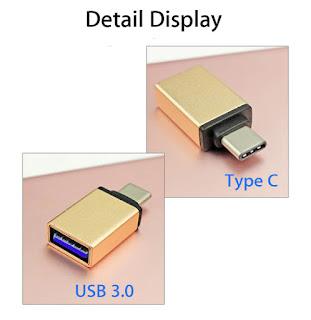 adattatore usb 3.0 otg type-c