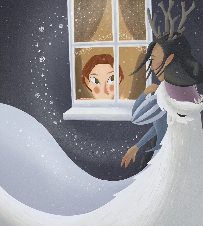The Snow Queen illustration
