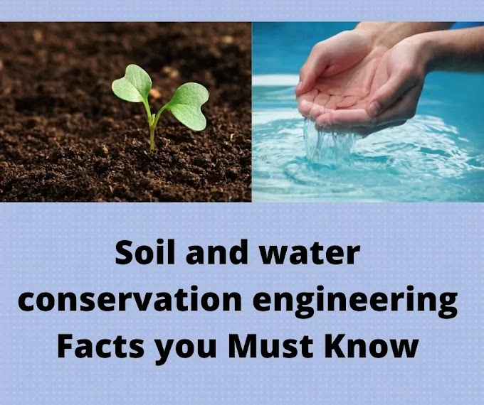What is soil and water conservation engineering?