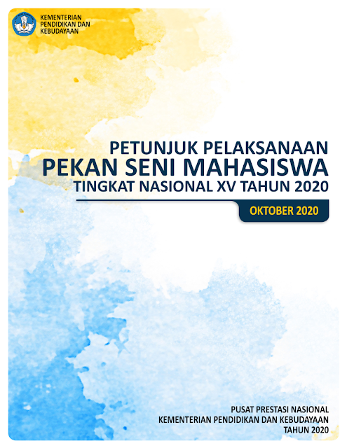 panduan pedoman petunjuk pelaksanaan pekan seni mahasiswa nasional peksiminas tahun 2020 pdf tomatalikuang.com
