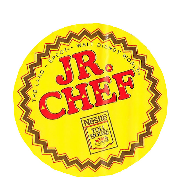 The Land Epcot Jr. Chef Nestle Toll House Sticker