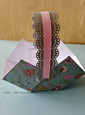 A paper basket tutorial