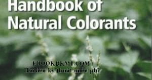 h andbook of natural colorants bechtold thomas mussak rita