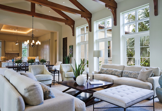design ideas for a large living room