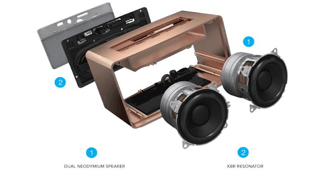 Dual Neodymium Speaker with XBR Resonator