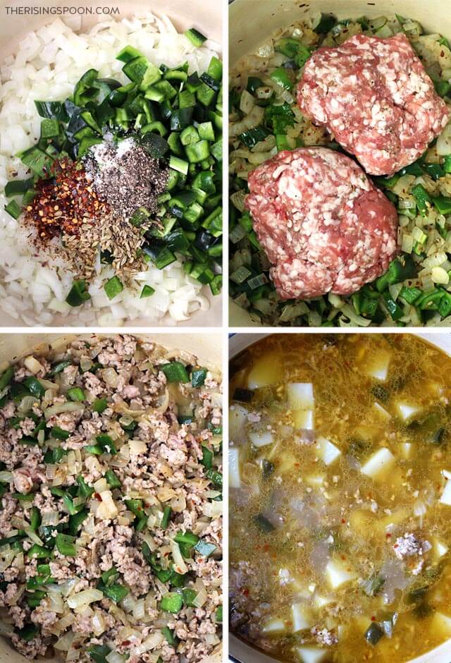 How to Make Spicy Italian Sausage & Potato Soup (Zuppa Toscana)