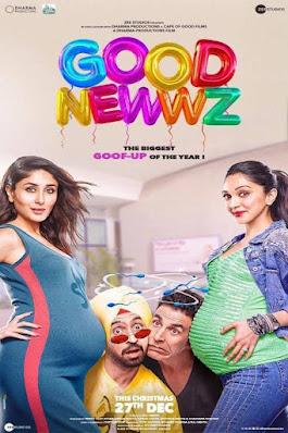 Download Good Newwz (2019) Hindi Full Movie 480p [600MB] | 720p [1.2GB] | 1080p [2.3GB] BluRay