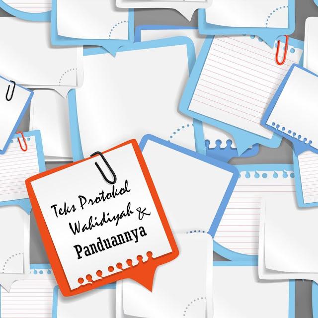 Teks Protokol Sholawat Wahidiyah + Panduannya