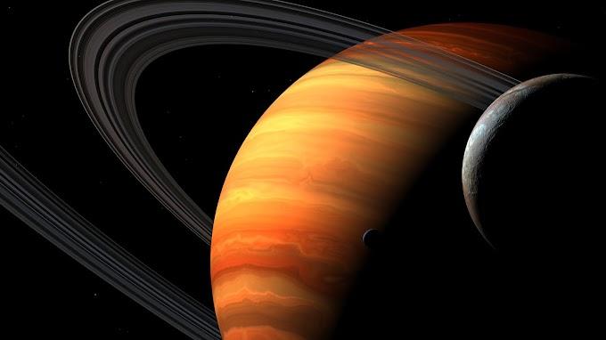 Planeta com Sistema de Anéis