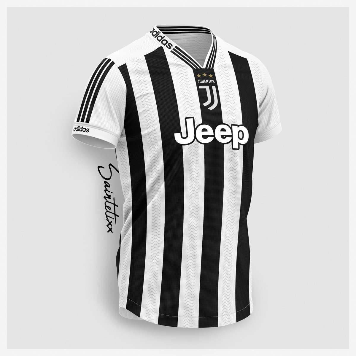 67d1445b50 Extraordinary Adidas Juventus Home, Away & Third Concept Kits By ...