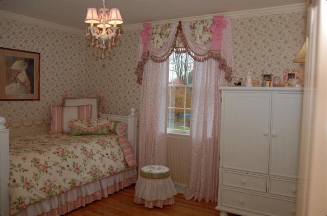 Habitaciones estilo vintage para ni as ideas para for Recamaras estilo vintage