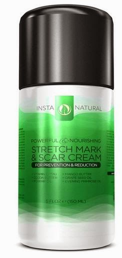 InstaNatural Stretch Mark Cream, by Barbie's Beauty Bits