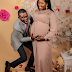Photogist: Comedian Segun Dangote & Wife Release Maternity Pictures As They Expect First Child