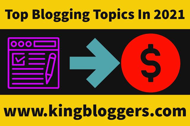 Best Blog Topics In 2021 For Beginners