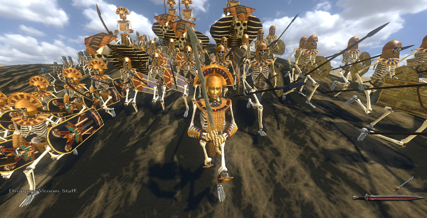 Symbol Ankh: Tomb King in Total War: Call of Warhammer MOD