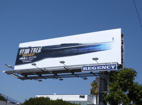 Star Trek Discovery launch billboard