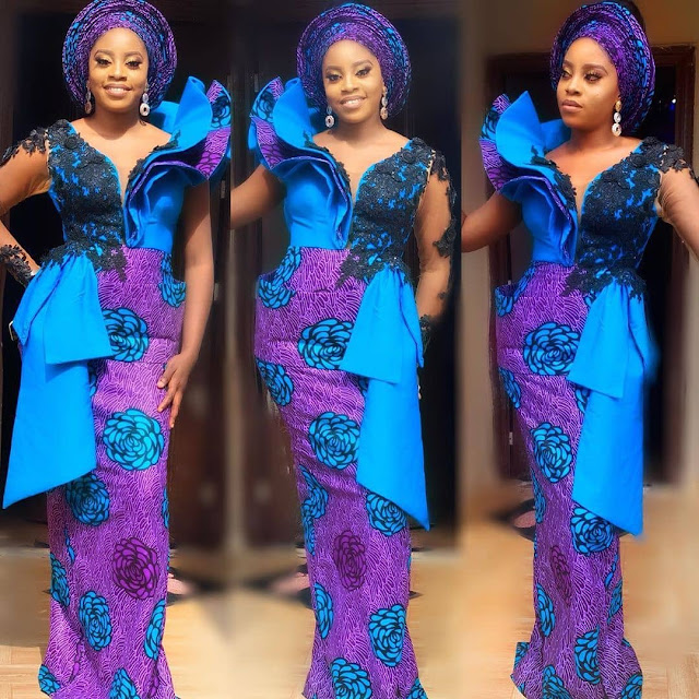 The 20 Best of Owambe Aso Ebi Dresses 39