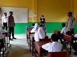 Kanit Binmas Polsek Langsa Barat Sambangi Sekolah Berikan Himbauan Kamtibmas