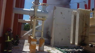 Se incendian instalaciones de CFE en Zona Hotelera de Cancún