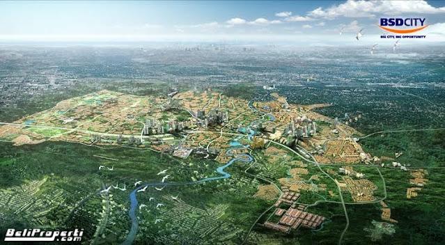 bsd city sinarmas land