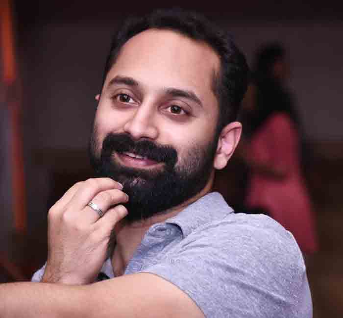What is this? This is not right. Actor Fahad Fazil told reporters who approached him with a mike to stand aside while voting at a local booth, Alappuzha, News, Assembly-Election-2021, Media, Cine Actor, Cinema, Fahad Fazil, Kerala, Politics