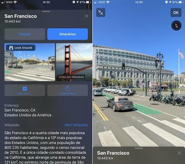 Mapas do iOS 13 foi reconstruído do zero e traz modo Olhe ao redor