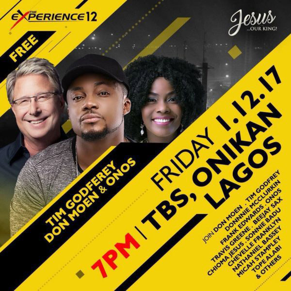 The Experience 2017 Set To Roll – Showcases Donnie McClurkin, Don Moen, Travis Greene & Others