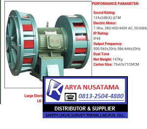 Cek Harga  LK JDW 400 Frequency: 500/56020Hz