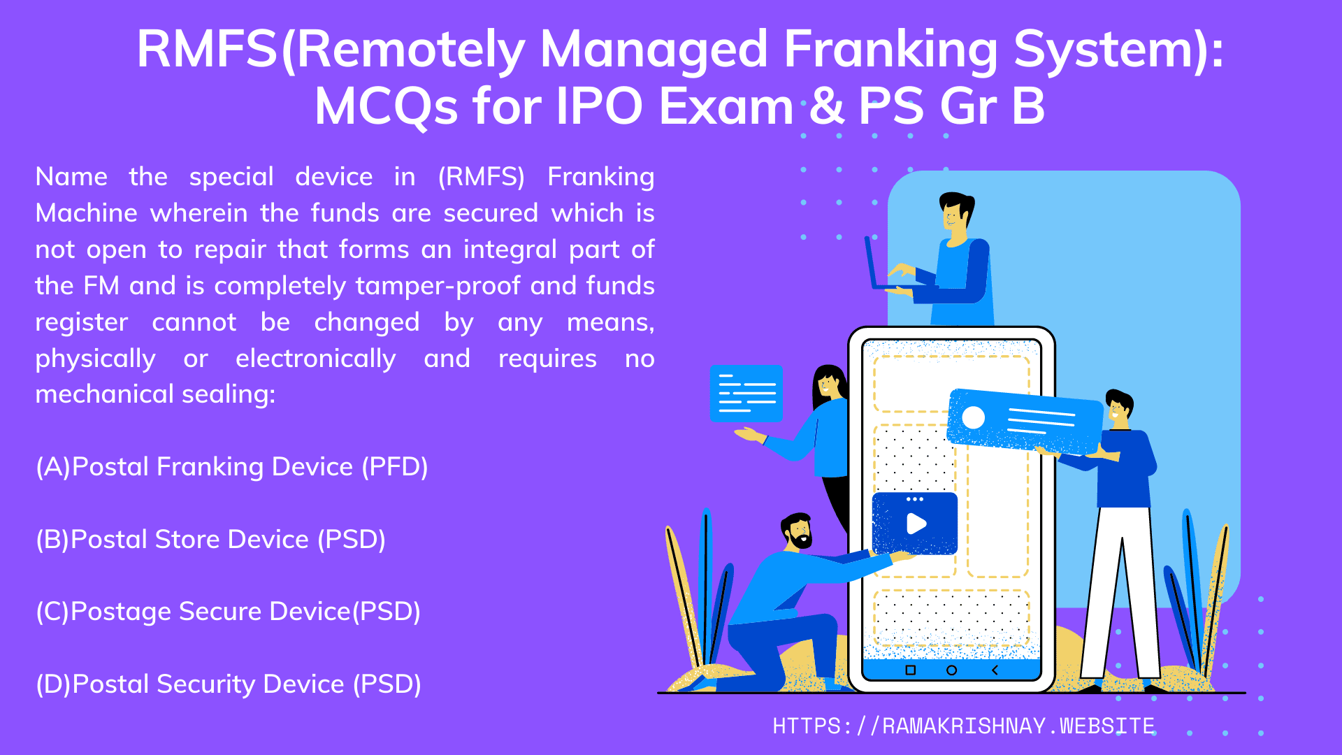 RMFS(Remotely managed Franking System)
