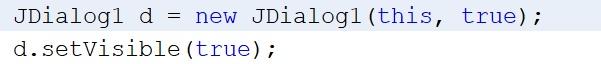 Como abrir JDialog en Java