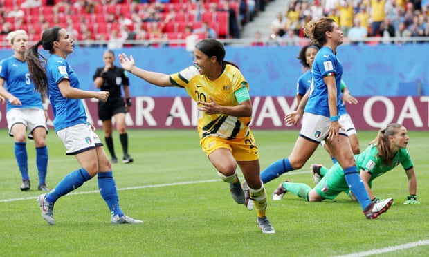 Sam Kerr the best player on the planet? Disclose to us something we don't have the foggiest idea