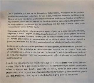 MALVINAS ARGENTINAS, ORGANIZACIONES SOCIALES