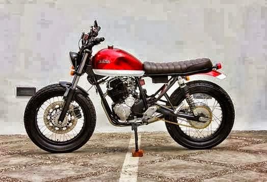 Modifikasi Yamaha Scorpio 225 : THE SCORCRAMBLER | Harga