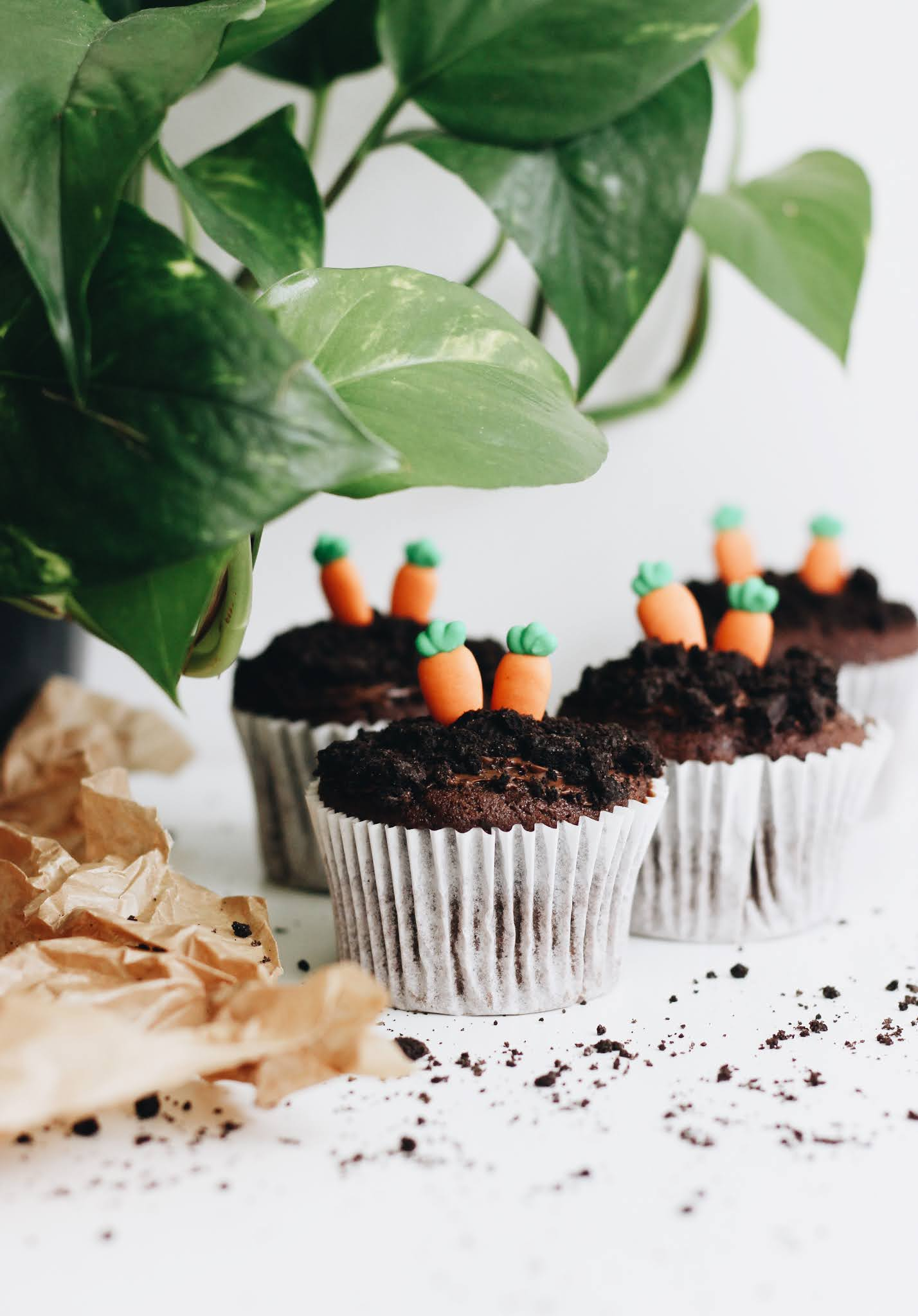 Chocolate Carrot Muffin Cupcake Recipe