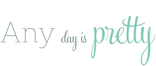 Any day is pretty: No hay palabras