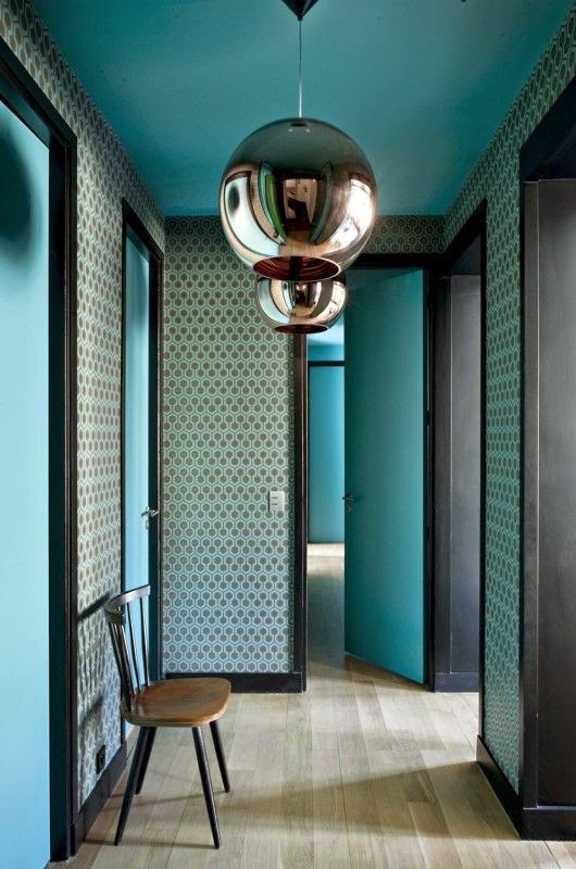 Lovely Papier Peint Couloir Long #10: Emejing Idee Deco Couloir Long ...